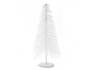 Άσπρο Χριστουγεννιάτικο Διακοσμητικό Δεντράκι 30 εκ.