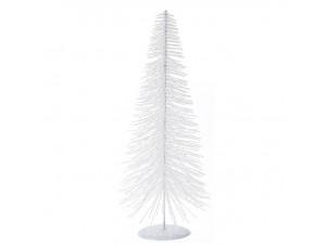 Άσπρο Χριστουγεννιάτικο Διακοσμητικό Δεντράκι 40 εκ.