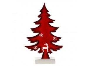 Κεραμικό Χριστουγεννιάτικο Διακοσμητικό Δεντράκι 12 x 3 x 19 εκ.