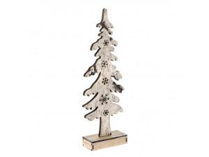 Φωτιζόμενο Χριστουγεννιάτικο Διακοσμητικό Δεντράκι 15 x 6 x 43 εκ.