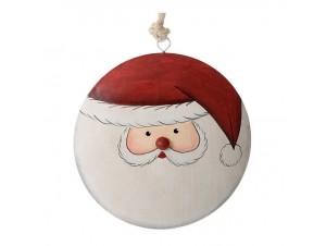 Πλακέ Μεταλλικό Χριστουγεννιάτικο Στολίδι 14 εκ.