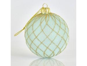 Σιελ Χριστουγεννιάτικη Γυάλιννη Μπάλα 8 εκ.