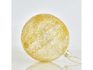 Ανάγλυφη Χριστουγεννιάτικη Μπάλα 12 εκ.