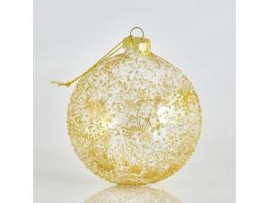 Ανάγλυφη Χριστουγεννιάτικη Μπάλα 10 εκ.