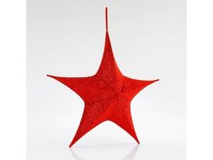 Υφασμάτινο Χριστουγεννιάτικο αστέρι 40 εκ.
