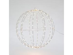 Φωτιζόμενη Χριστουγεννιάτικη μπάλα διακόσμησης 40 εκ.