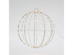 Φωτιζόμενη Χριστουγεννιάτικη μπάλα διακόσμησης 30 εκ.