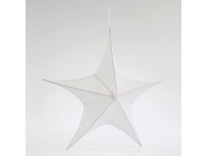Υφασμάτινο Χριστουγεννιάτικο αστέρι 80 εκ.