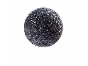 Μαύρη Γυάλινη Χριστουγεννιάτικη Μπάλα Διακόσμησης 7,5 εκ.