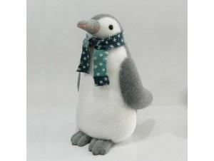 Χριστουγεννιάτικος διακοσμητικός πιγκουίνος 38 εκ.