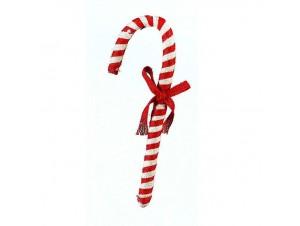 Κρεμαστό Χριστουγεννιάτικο στολίδι μπαστούνι 30 εκ.