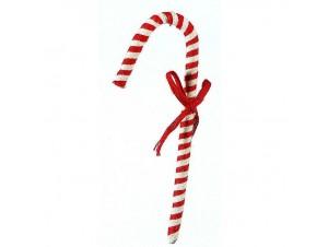 Κρεμαστό Χριστουγεννιάτικο στολίδι μπαστούνι 38 εκ.