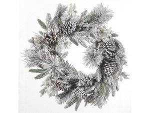 Χριστουγεννιάτικο στεφάνι διακόσμησης 71 εκ.
