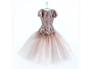 Χριστουγεννιάτικο στολίδι φόρεμα 21 εκ.