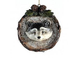 Κρεμαστό ανάγλυφο στολίδι Χριστουγεννιάτικου δέντρου