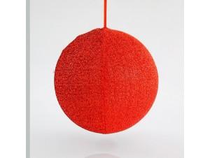 Υφασμάτινη Χριστουγεννιάτικη μπάλα 60 εκ.