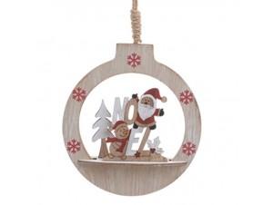 Χριστουγεννιάτικο κρεμαστό στολίδι δέντρου 15 x 4 x 16,5 εκ.