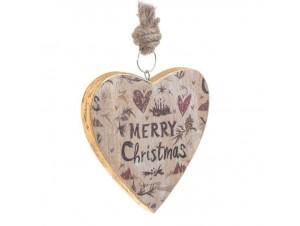 Χριστουγεννιάτικο vintage στολίδι δέντρου 15 εκ.