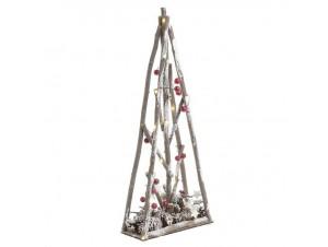 Χριστουγεννιάτικο διακοσμητικό δέντρο με LED  25 x 10 x 60 εκ.