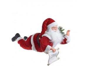 Χριστουγεννιάτικος με κίνηση Άγιος Βασίλης και LED 80 εκ.