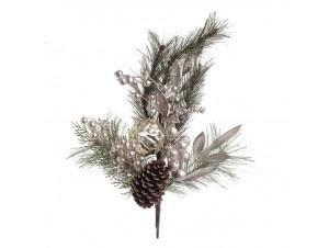 Χριστουγεννιάτικο διακοσμητικό κλαδί 77 εκ.