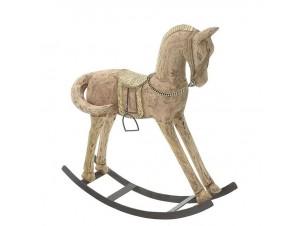 Χριστουγεννιάτικο διακοσμητικό άλογο 41 x 10 x 45 εκ.