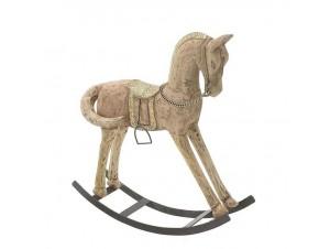 Χριστουγεννιάτικο διακοσμητικό άλογο 35 x 9 x 35 εκ.