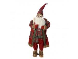 Χριστουγεννιάτικος διακοσμητικός Άγιος Βασίλης 120 εκ.