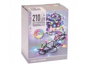 210 LED Λαμπάκια πολύχρωμα, 31V εξωτερικού χώρου