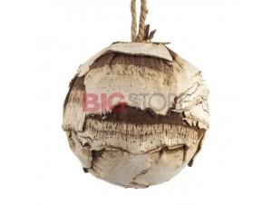 Χριστουγεννιάτικη μπάλα διακόσμησης με φλούδα 10 εκ