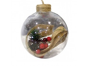 Χριστουγεννιάτικη Μπάλα 10 εκ.