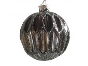 Διακοσμητική μπάλα Χριστουγεννιάτικου δέντρου 10 εκ.