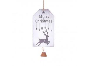 Χριστουγεννιάτικο στολίδι ταμπέλα 15 x 8,5 εκ.
