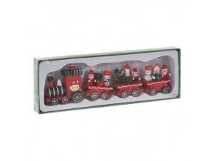 Χριστουγεννιάτικο Τρενάκι 21 x 5,5 εκ.