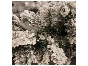 Χριστουγεννιάτικη Χιονισμένη γιρλάντα Flocked 270 εκ.