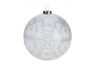 Χριστουγεννιάτικη μπάλα διακόσμησης 7,5 εκ.