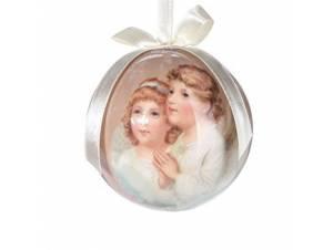 Χριστουγεννιάτικη μπάλα με αγγελάκια 7,5