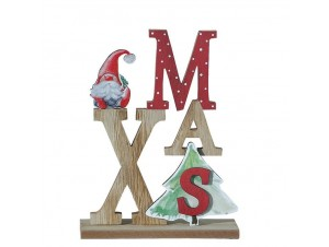 Χριστουγεννιάτικο διακοσμητικό κρεμαστό 21 x 16 εκ.
