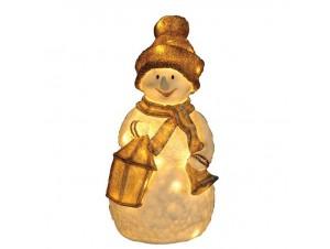 Χιονάνθρωπος Ακρυλικός με 60 LED 40 εκ.