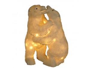 Φωτιζόμενες αρκούδες με 60 LED 39 εκ.