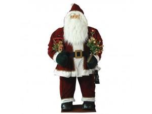 Χριστουγεννιάτικος διακοσμητικό Άγιος Βασίλης 180 εκ