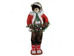 Χριστουγεννιάτικη διακοσμητική αρκούδα 180 εκ.