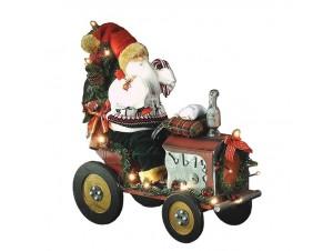 Χριστουγεννιάτικος διακοσμητικός Άγιος Βασίλης 50 εκ