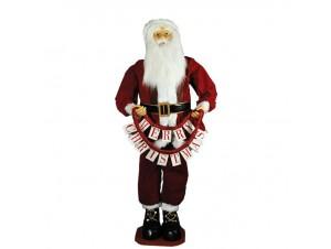 Διακοσμητικός Χριστουγεννιάτικος Άγιος Βασίλης 180 εκ
