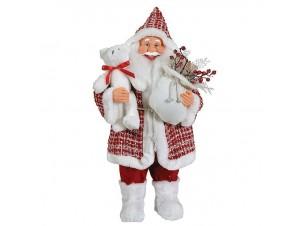 Διακοσμητικός Χριστουγεννιάτικος Άγιος Βασίλης 80 εκ