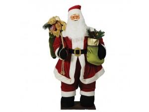 Διακοσμητικός Χριστουγεννιάτικος Άγιος Βασίλης 160 εκ