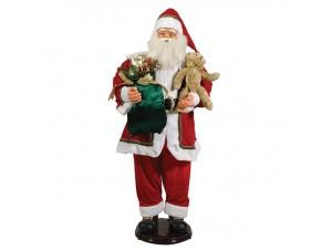 Διακοσμητικός Χριστουγεννιάτικος Άγιος Βασίλης 150 εκ