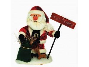 Διακοσμητικός Χριστουγεννιάτικος Άγιος Βασίλης 40 εκ