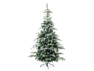 Χιονισμένο Χριστουγεννιάτικο Δέντρο Plastic Pvc 225 εκ.