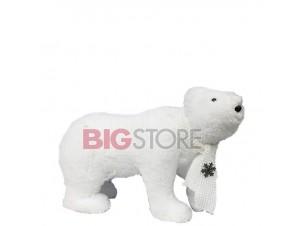 Χριστουγεννιάτικη διακοσμητική αρκούδα 29 εκ.